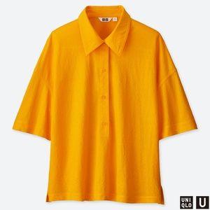 Yellow Uniqlo Blouse sz XL